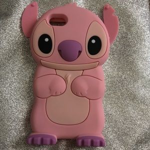 Disney's Pink Stich iPhone 6/6s 7/7s case
